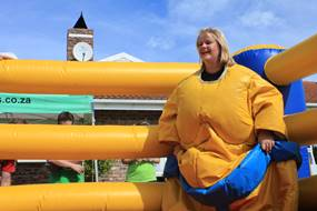 Red Cherry Teambuilding Sumo Suites and Inflatable Ring